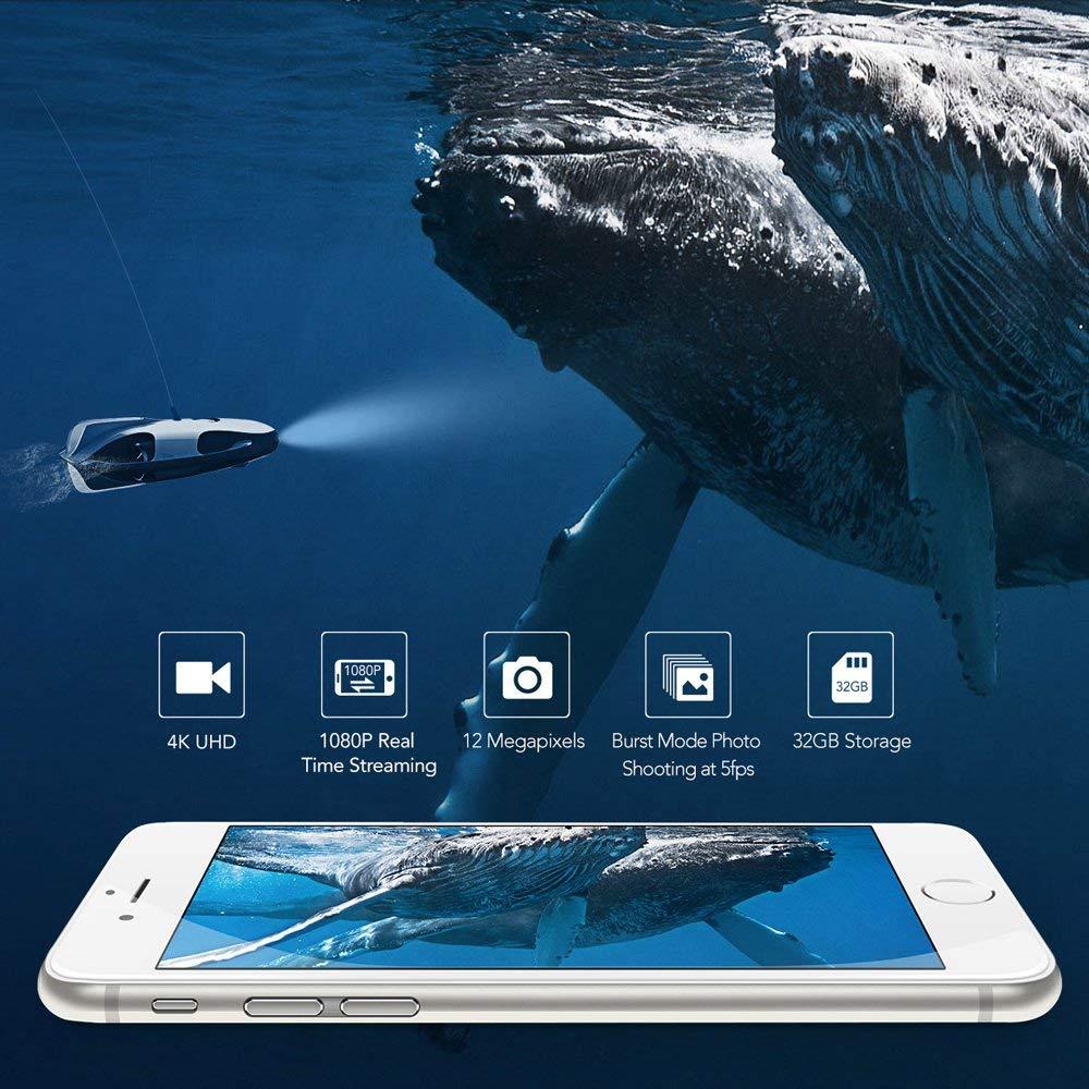 Test du PowerRay, le drone sous-marin de PowerVision