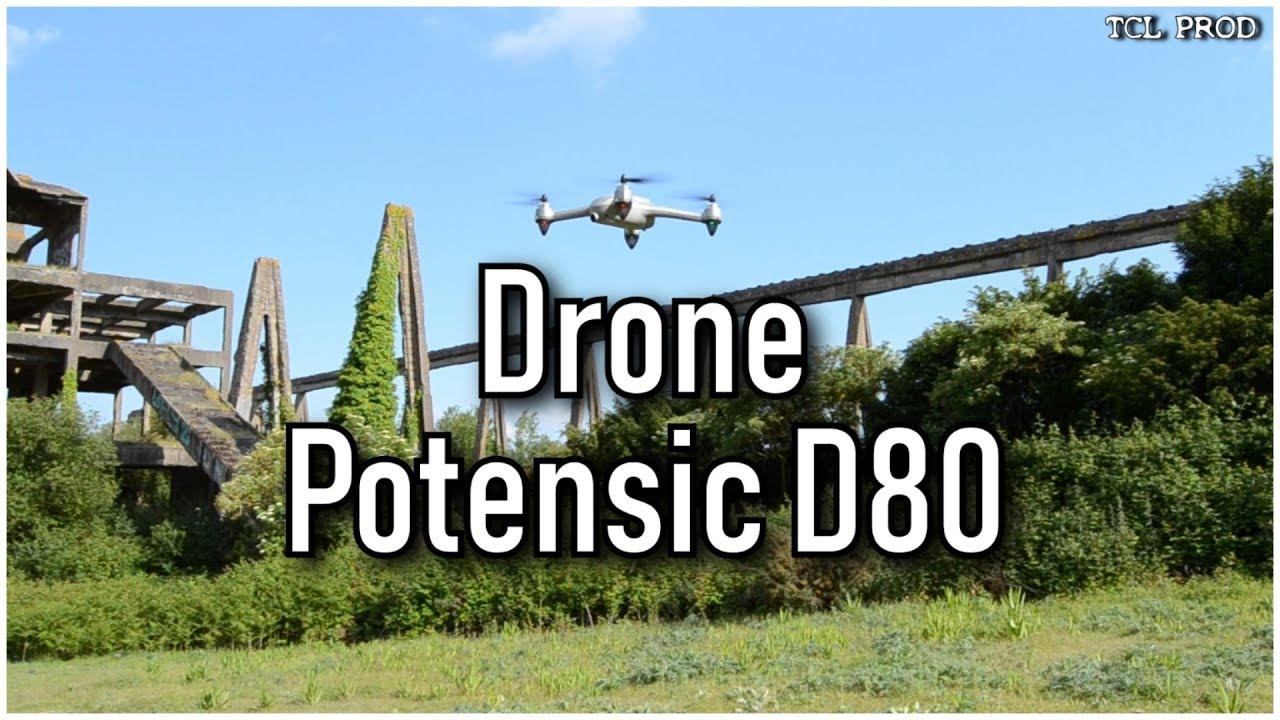 Potensic D80 : un drone GPS accessible à tous