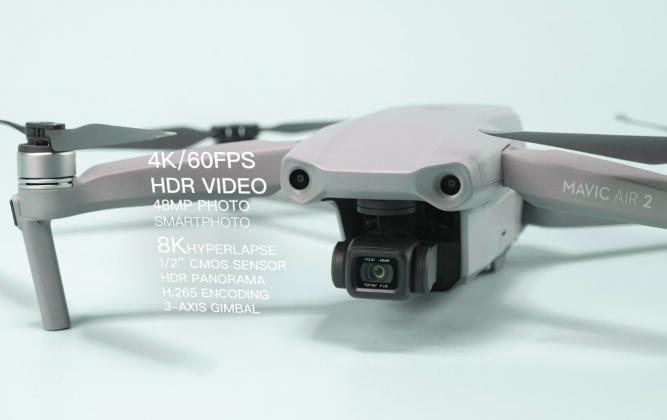 Mavic Air 2 Unboxing: Points forts et caractéristiques du produit