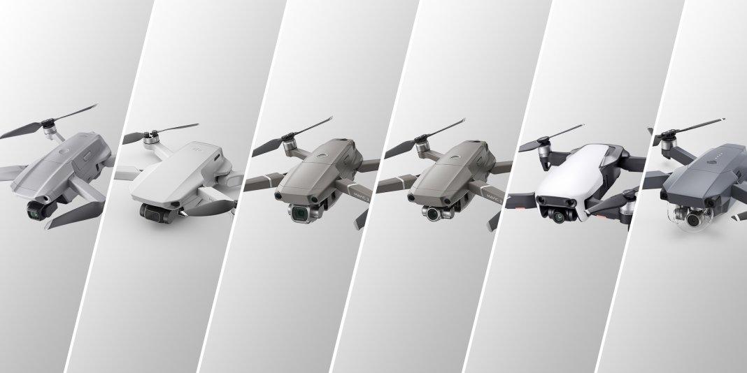 Comparaison de la série Mavic: quel drone DJI choisir ?