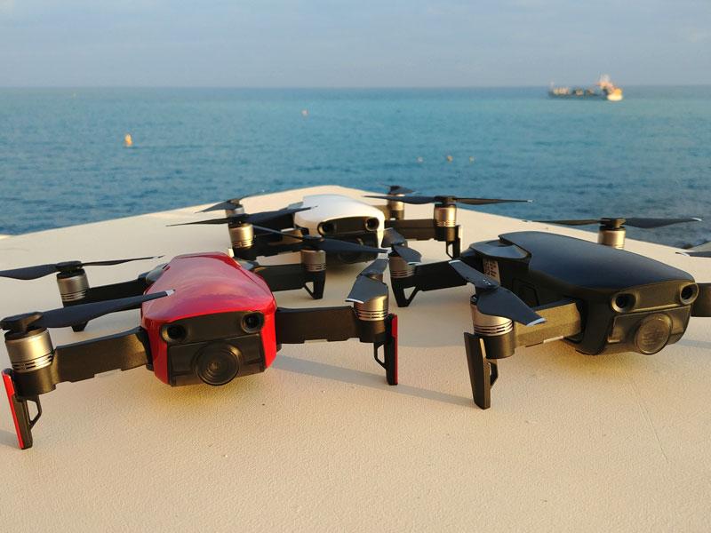 La gamme 2020 des drones DJI
