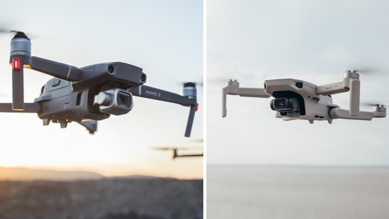 DJI Mavic Mini vs DJI Mavic 2 : quel drone vous convient le mieux?