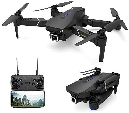EACHINE E520S Drone avec Camera 4k HD GPS 5G-WiFi Pliable FPV Quadcopter 1200mAh Batterie Inclus