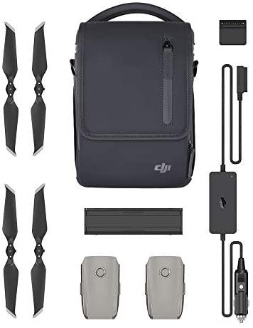 DJI Mavic 2 Pro/Mavic 2 Zoom Fly More Kit - Comprend 2 Batteries de Vol Intelligentes, 1 Chargeur Multiple, 1 Chargeur de Voiture, Hélices Low-Noise et 1 Sac de Transport