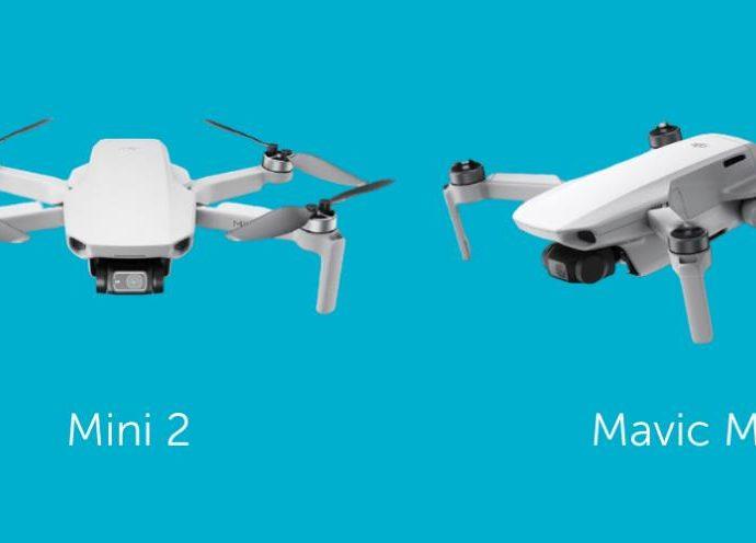 DJI MINI 2 DRONE CONTRE MAVIC MINI