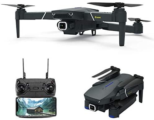 Drone avec caméra 4k HD EACHINE-E520 Drone radiocommandé pour débutant, Drone Pliable
