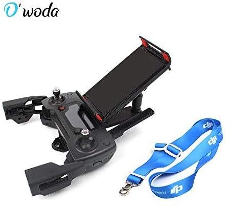 O'woda Support Avant Téléphone Portable Support de Tablette avec Cou Cordon pour DJI Spark / Mavic Pro /Mini SE (Pas pour Mavic 2 Pro)